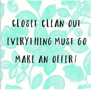 Accessories - CLOSET CLEAR OUT SALE ALL MUST GO!!!